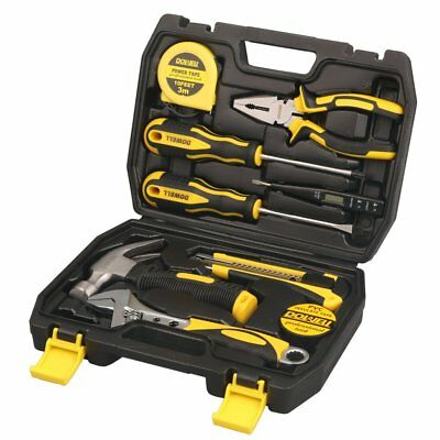 DOWELL 90 Homeowner Tool Set Pieces General Household Small Hand Tool Kit with