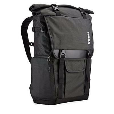 (TG. taglia unica) Thule Covert Backpack Black - Camera Cases (Backpack case, Un