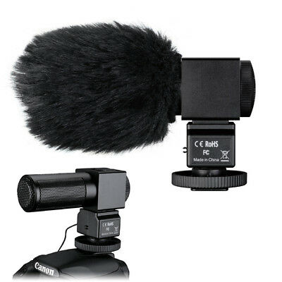 TAKSTAR SGC-698 Camera Interview Recording Stereo Microphone MIC For Camcorder
