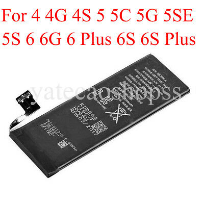 3.8V 1560mAh Li-ion Internal Battery Replacement w/ Flex Cable For iPhone Lot