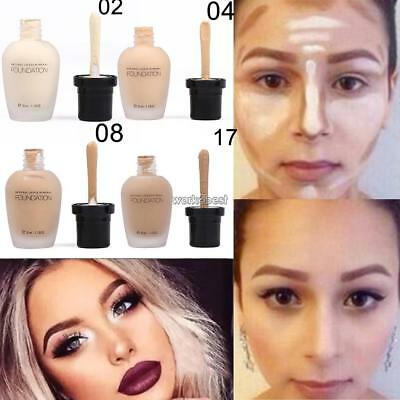 Fashion Women Cosmetic Professional Neutral Face Liquid Makeup Concealer WST