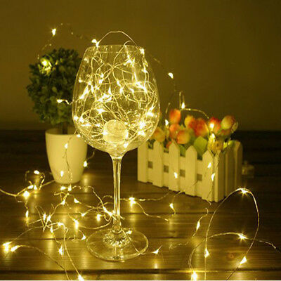 2-20M USB or Battery LED Copper Wire String Lights Fairy Xmas Party Waterproof