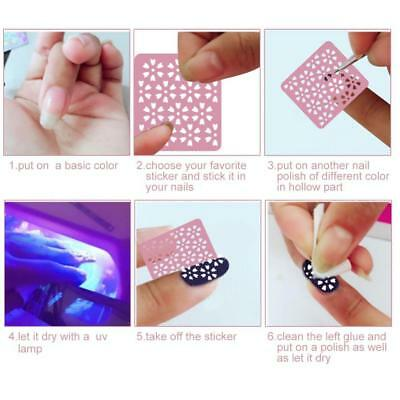 24pcs 3D Nail Art Transfer Stickers Flower Decals Manicure Decoration Tips