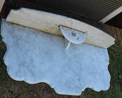 Marble washstand top