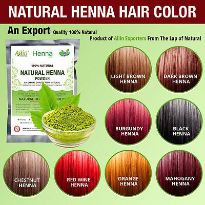 Organic Henna Hair dye/color 60 Grams For Men & Women 100% Chemical Free
