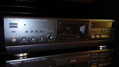 Technics RS-BX747 Top of Line Three Head Remote Control Cassette Deck