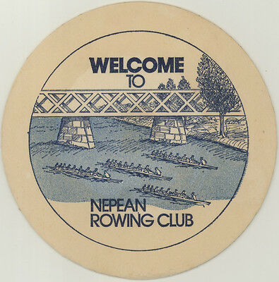 Coaster: Nepean Rowing Club
