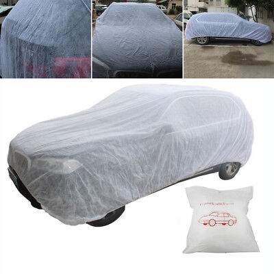 Medium Breathable Full Car Cover UV Protection Waterproof Outdoor Indoor 3.5*6m