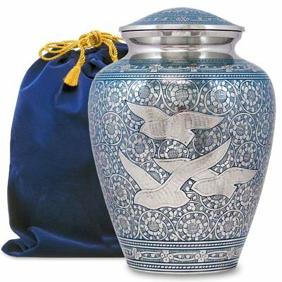 Wings of Love Elegant Adult Cremation Urn For Human Ashes - A Beautiful and