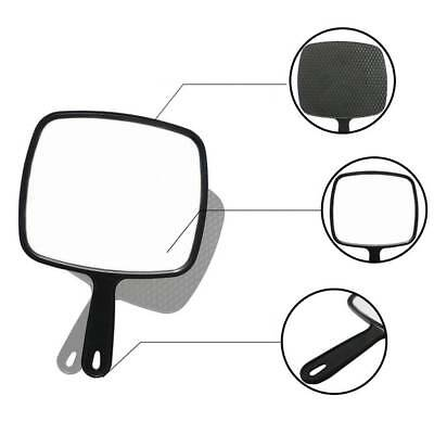 Beauty & Hairdressing Makeup Handle Mirror Black Portable Makeup Cosmetic Kit