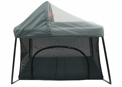 Portable Crib - Front And Top Baby Access With Sun Shade And Bug Canopy. Your