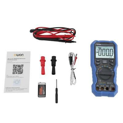 OW18B Bluetooth Digital Multimeter Supported Mobile App True RMS Flashlight