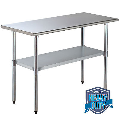 "24"" x 48"" Commercial Stainless Steel Work Table Food Prep Kitchen Restaurant"