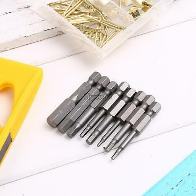 8pcs/Set 50mm Magnetic Hex Head Screw Driver Screwdriver Bit Set Kit MSF