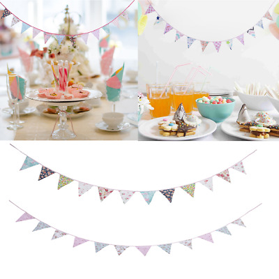 Copper and Bronze Fabric Bunting Rose Gold Wedding decoration wall hanging