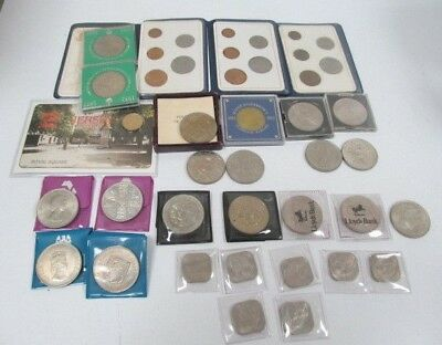 Job Lot of Old and Commemorative Coin Mixed