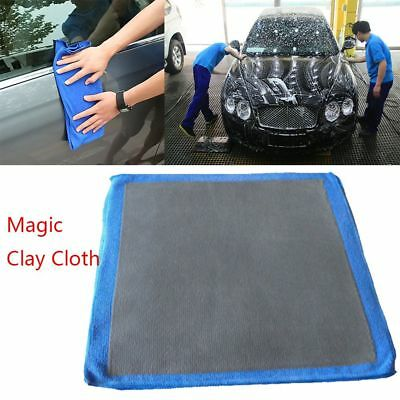 Car Truck Polishing Cloth Towel Clay Bar Microfibre Mitt Detailing Washing D