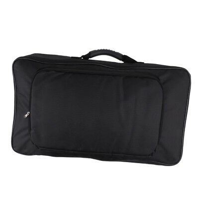 Durable Handheld Effect Pedal Board Bag Soft Case Box Container 58 x 33 x 10cm