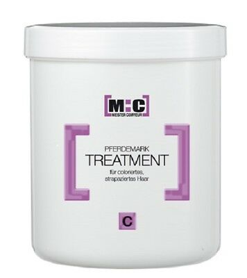 MC Meister Coiffeur Pferdemark Treatment C, 1000 ml M:C Maske Haarkur