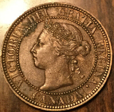 1896 CANADA LARGE 1 CENT PENNY - Truly superb! - A corrosion spot