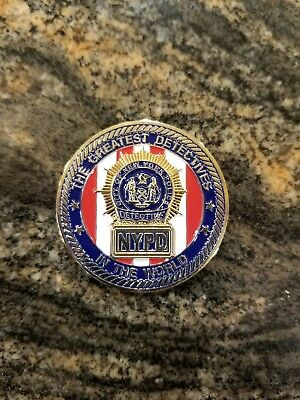 Nypd challenge coin 79 Precinct Do or Die Bedstuy
