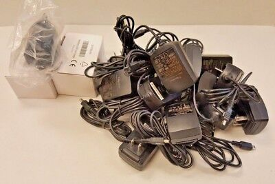 Lot of 16 OEM Blackberry Charger Power Adapter PSM05R-050CHW 5V 500mA Mini USB