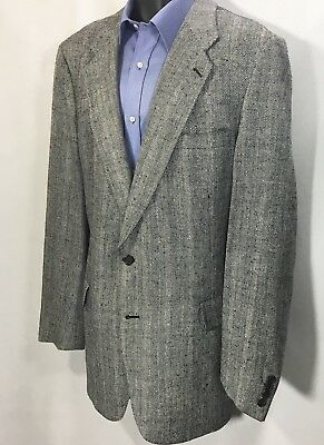 KUPPENHEIER Gray Textured Blazer Size 46L | 2 Button Sport Coat