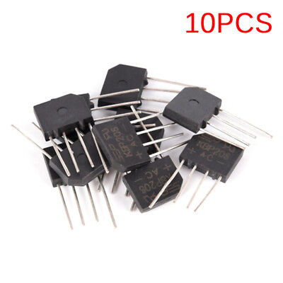 10PCS KBP206 Generic Diode Bridge Rectifier 2A 600V 4PIN Dipts Sm