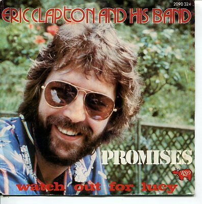 """ERIC CLAPTON AND HIS BAND -7"""" Promises (FRANCE,RSO,1978)"""