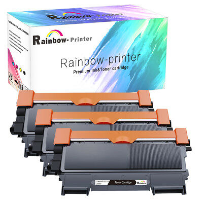 3 PK TN450 Toner for Brother HL-2240D DCP-7060D DCP-7065DN MFC-7360N MFC-7460DN