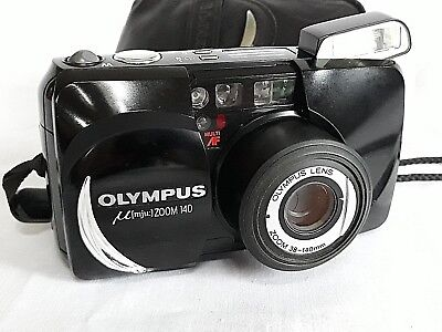 Olympus Mju Zoom 140 Stylus Epic All weather 35mm Camera 38-140mm Lens/1163017
