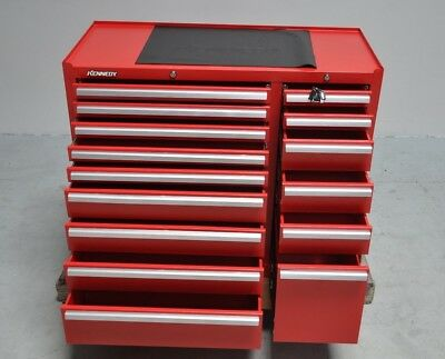 Kennedy 315XR 15-Drawer Industrial Side Cabinet Rolling Tool Storage