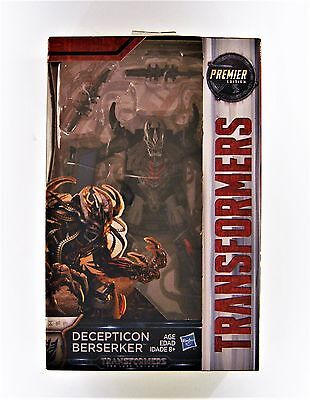 Hasbro Transformers The Last Knight Premier Edition Deluxe Decepticon Berserker