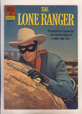 Lone Ranger #145 FN Clayton Moore Photo Cover, Last Issue