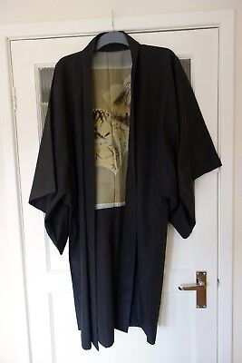 Japanese Unisex Kimono Dressing Gown Robe *made In Japan* Kyoto* With Tag
