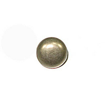 """3/8"""" Round Spots Antique Nickel Plated 100 Pack"""