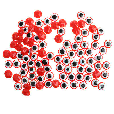 12.5MM 100pcs Plastic Safety Evil Eyes with Sequins for Doll Bear Puppet DIY Toy