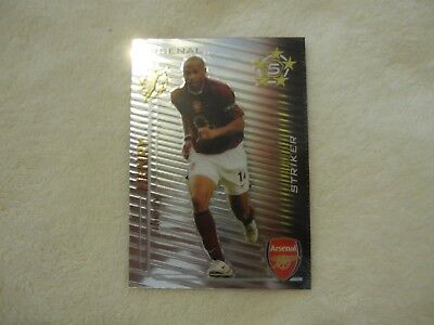 Arsenal Football Legend-Thierry Henry- Shoot Out  Magic Box Card 2005//2006