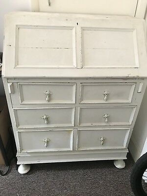 Vintage Writing Bureau Desk Shabby Chic  - collect from N10 1DN
