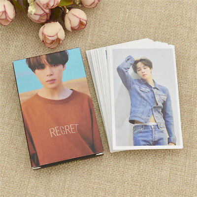 1Box BTS JIMIN Love Yourself/Tear FAKE LOVE Lomo Card Solo Photocards Members