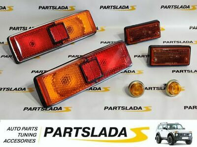 Set Rear Lights+front position+Repeaters turn LADA VAZ  2101-011-013
