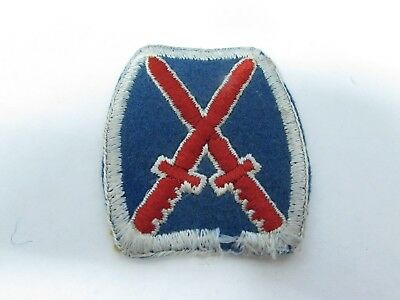 WWII U.S. Army patch 10th Mountian Division felt RARE variant patch