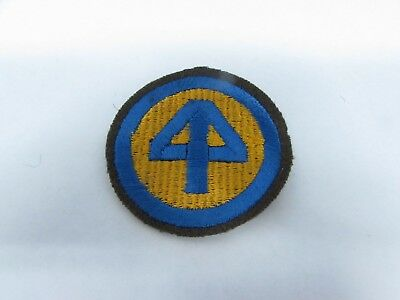 WWII U.S. Army patch 44th Infantry Division OD border variant patch