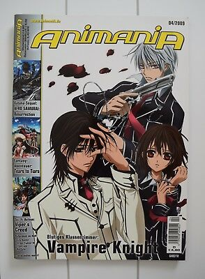 Animania 04/2009 - Vampire Knight - Anime Manga Magazin (wie neu)