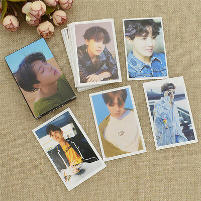 1Box BTS J-HOPE Love Yourself/Tear FAKE LOVE Lomo Card Solo Photocard Collection