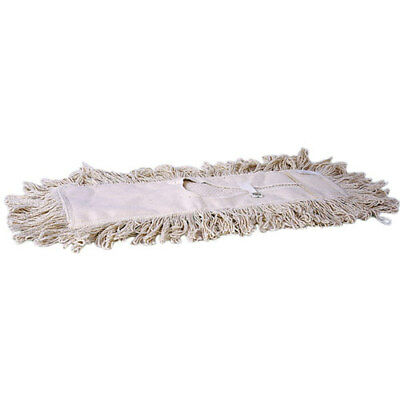 "Weiler 75118 36"" Professional Dust Mop Head, Tie-On Style, 4-ply cotton"