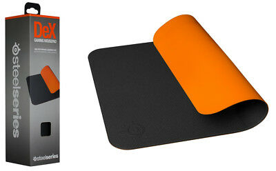SteelSeries 63500 DeX Black - Orange - Mousepad/-mat 320 x 270 x 2 mm