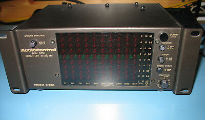 Audio Control  Modell C-50A Real Time Spectrum Analyzer - Rarität
