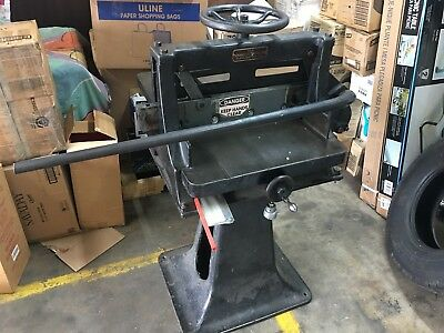 Chandler And Price Co. Vintage Guillotine Paper Cutter