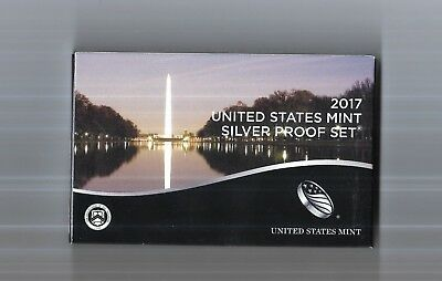 U.S. Proof Set - 2017 Silver  Proof Set,  Direct from the US Mint - Never opened